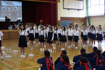 名古屋市荒子小学校の9回目修学...